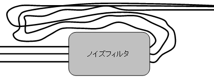 電線配線-悪い例-